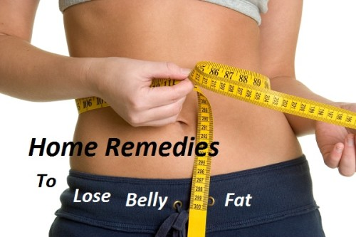 home remedies to lose fat